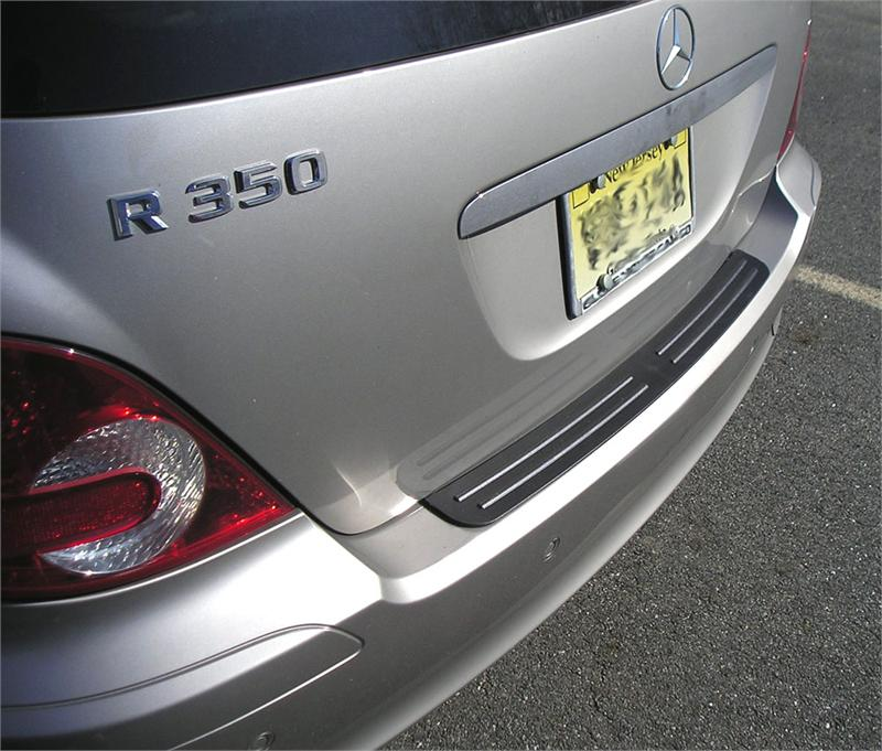 rear bumper protector fits 2006 2010 mercedes benz r class