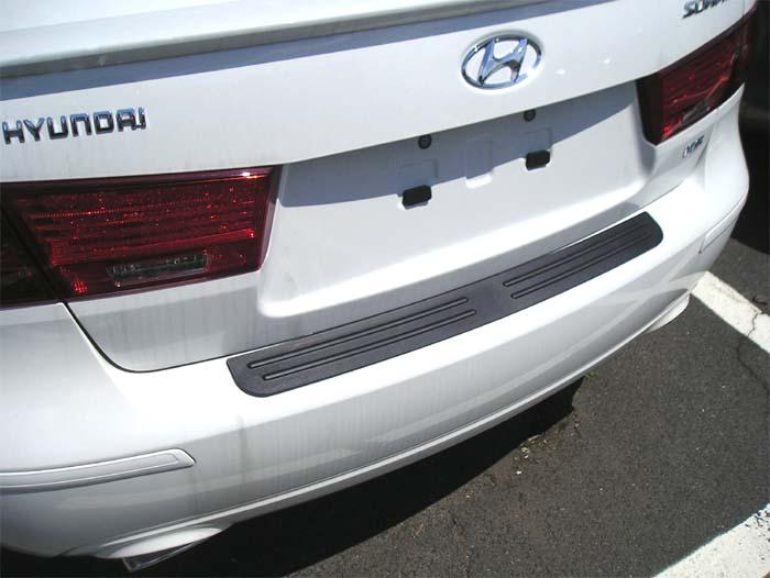 Rear Bumper Protector Fits 2008 2010 Hyundai Sonata