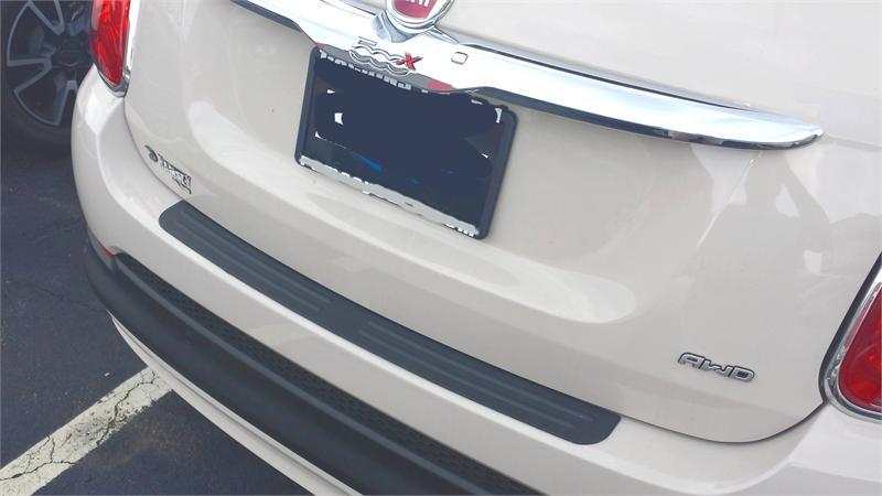 Rear Bumper Protector Fits 2015 2016 Fiat 500x
