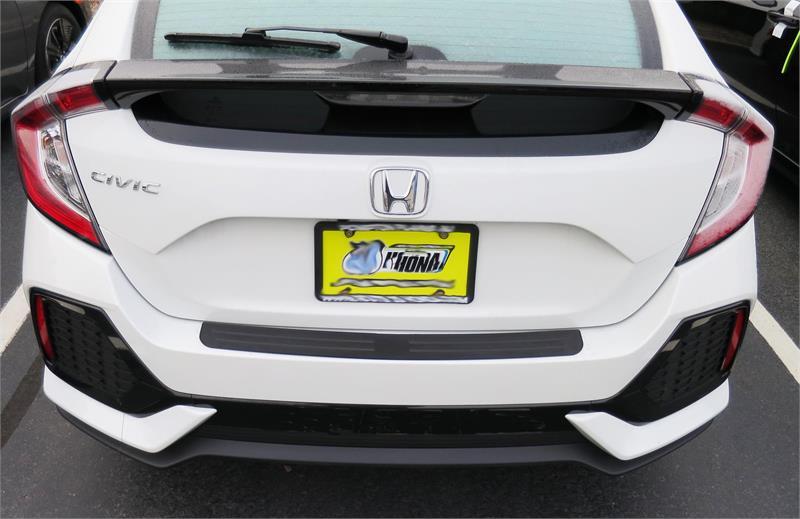 Rear Bumper Protector Fits 2017 - 2018 Honda Civic Hatchback