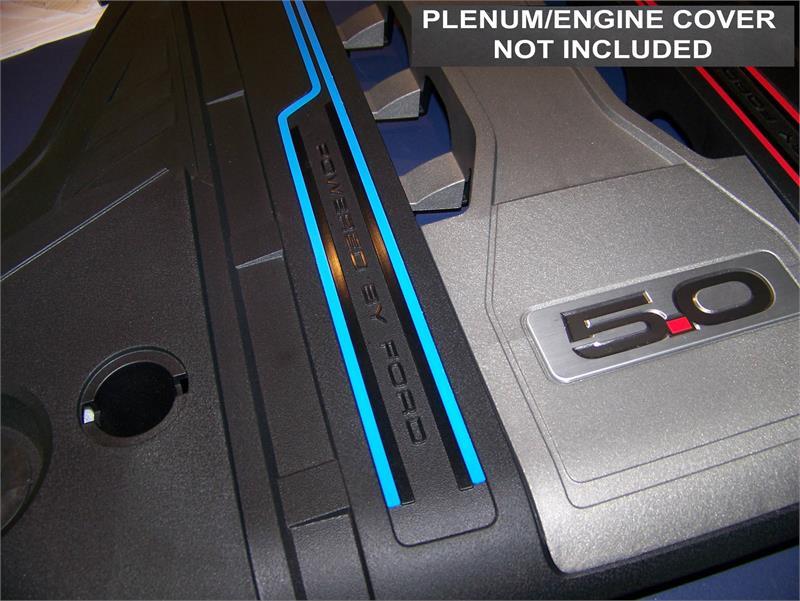 Engine Plenum Cover Trim Stripe Kit Fit 2018 - 2020 Ford ...