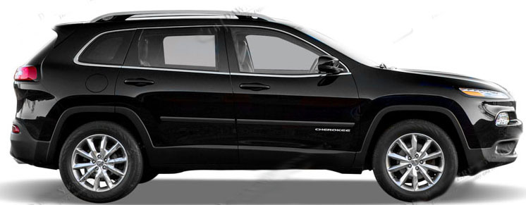 Body Side Molding Fits 2014 2015 Jeep Cherokee