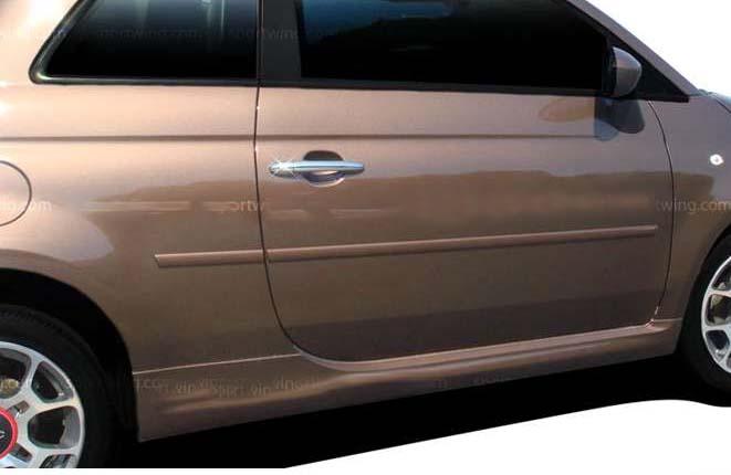 12 Fiat 500 Body Side Molding