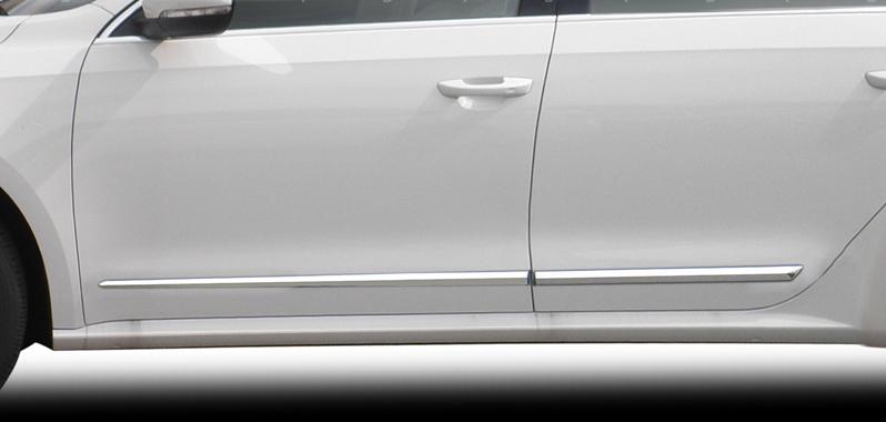Lower Chrome Molding Fits 2009 - 2015 Volkswagen Jetta Sport Wagen Wagon