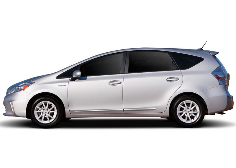 2018 Toyota Prius V >> Lower Chrome Molding Fits 2012 2018 Toyota Prius V