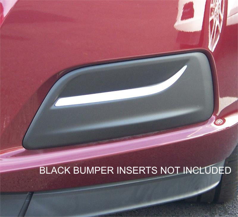 2015 Chevrolet Malibu >> Fog Light Insert Chrome Trim Fits 2013 - 2015 Chevrolet Malibu