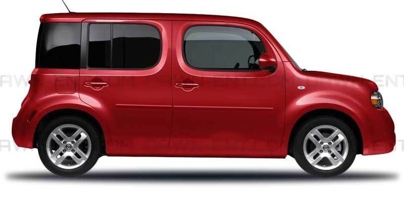 Ce Cube on Nissan Cube Side Molding