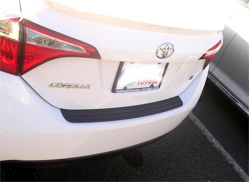Rear Bumper Protector Fits 2014 2017 Toyota Corolla