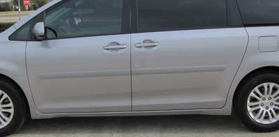 Body Side Molding Fits 2011 2018 Toyota Sienna