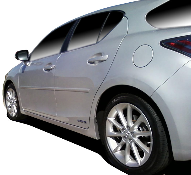 2011 Lexus Ct Exterior: Body Side Molding Fits 2011