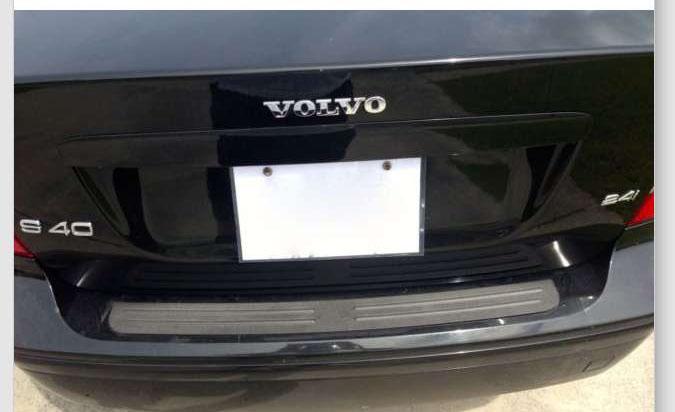 Rear Bumper Protector Fits 2004 2013 Volvo S40 Sedan