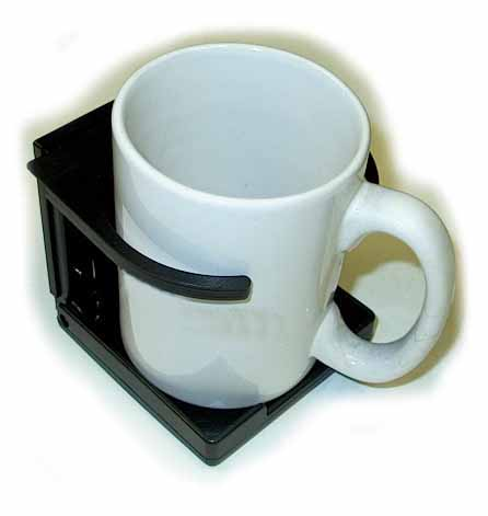 Black Adjustable Folding Cup Hoder