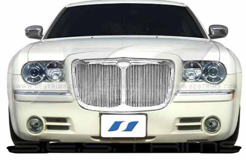 2004 + Chrysler 300 Billet Vertical Grille