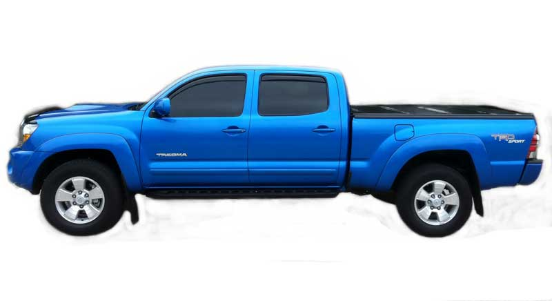 Body Side Molding Fits 2005 - 2018 Toyota Tacoma Double Cab