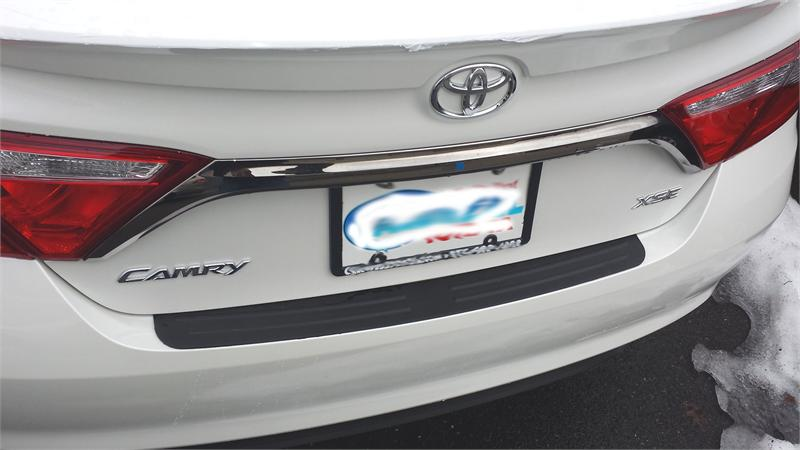Rear Bumper Surface Protector Cover Fit 2015 2017 15 Toyota Camry i