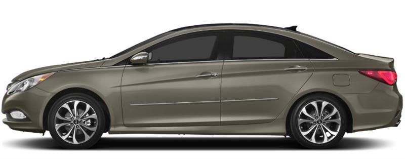 Coast Blue Pearl Dawn Enterprises CF7-SON20 Custom Chromeline Body Side Molding Compatible with Hyundai Sonata VU8